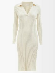 Emilia Wickstead - Clarisse Floral Print Crepe Dress - Womens - Pink Multi