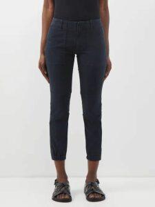 Phipps - Pangolin Print Cotton Sweatshirt - Womens - Blue Multi