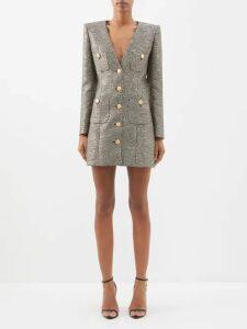 Phipps - Tree Of Life Organic Cotton Hooded Sweatshirt - Womens - Grey