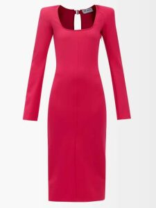 Edward Crutchley - Single Breasted Wool Blazer - Womens - Navy