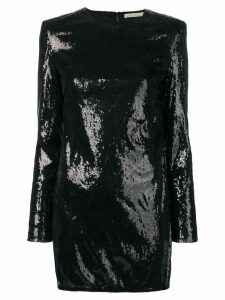 Amen sequinned mini dress - Black