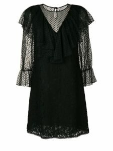 See By Chloé lace-detail dress - Black