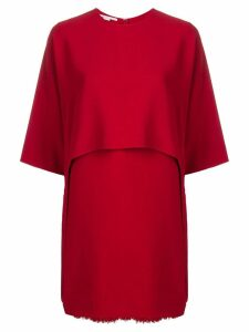 Stella McCartney Georgia mini dress - Red