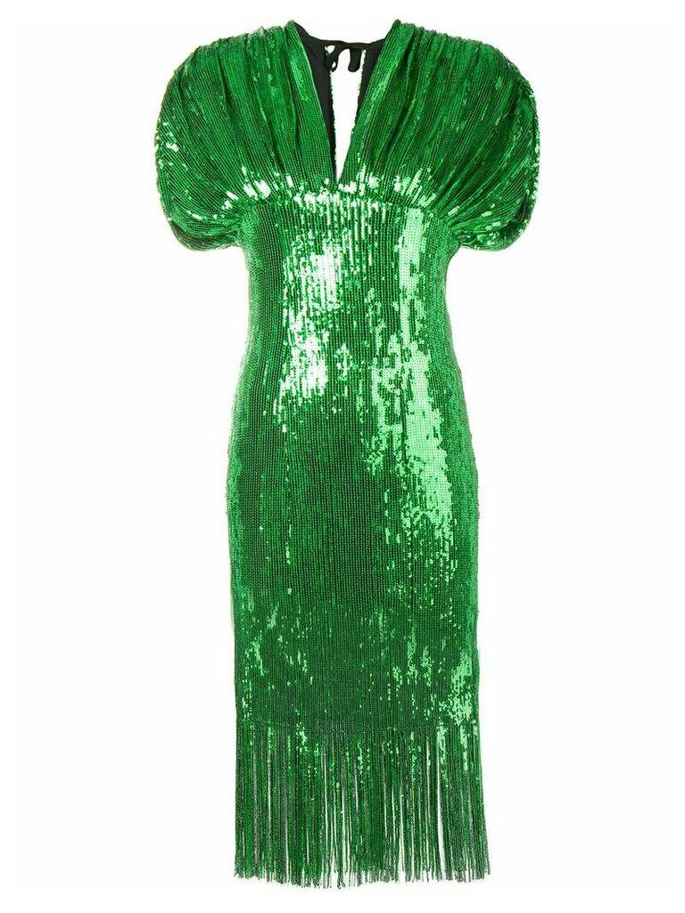 Giuseppe Di Morabito sequin-embellished dress - Green