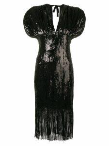 Giuseppe Di Morabito sequin-embellished mini dress - Black