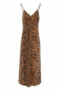 Miu Miu Leopard-printed Dress
