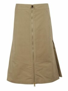 Burberry Flared Skirt