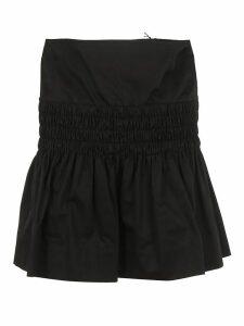 Elasticated Detail Mini Skirt