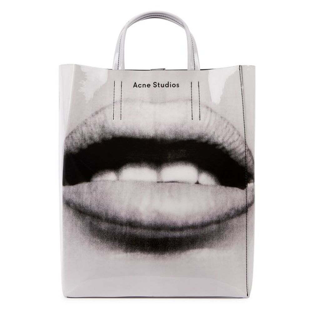 Acne Studios Baker Small Printed Leather Tote