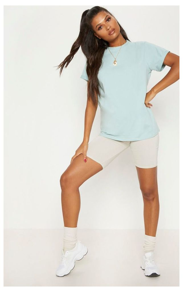 Mint Boyfriend T Shirt, Green