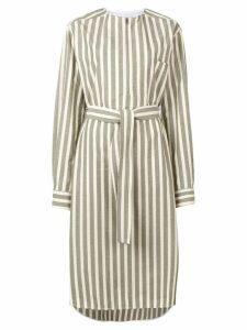 Golden Goose striped tunic dress - Neutrals