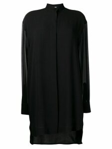 Givenchy ruffle trim dress - Black