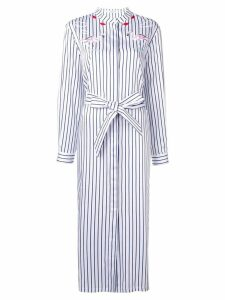 Vivetta striped shirt dress - Blue