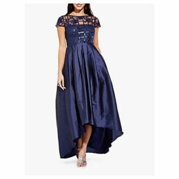 Adrianna Papell Long Sequin Dress, Midnight