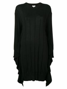 Kenzo pleated knit dress - Black
