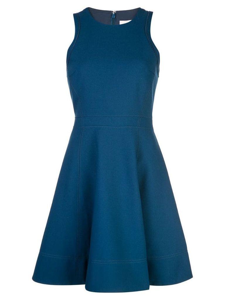 Cinq A Sept short flared dress - Blue