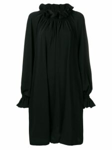 Mm6 Maison Margiela crepe de chine dress - Black