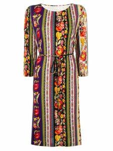 Etro floral print tunic dress - Neutrals