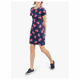 Joules Riviera Floral T-Shirt Dress, Navy