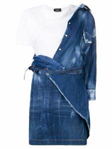 Dsquared2 denim T-shirt dress - Blue