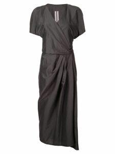 Rick Owens short sleeved limo dress - Blujay