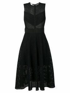Pinko embroidered midi dress - Black