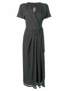 Rick Owens short sleeve limo dress - Blue
