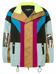 Dsquared2 colour block jacket - Black