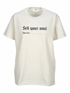 R13 R13 sell Your Soul Print T-shirt