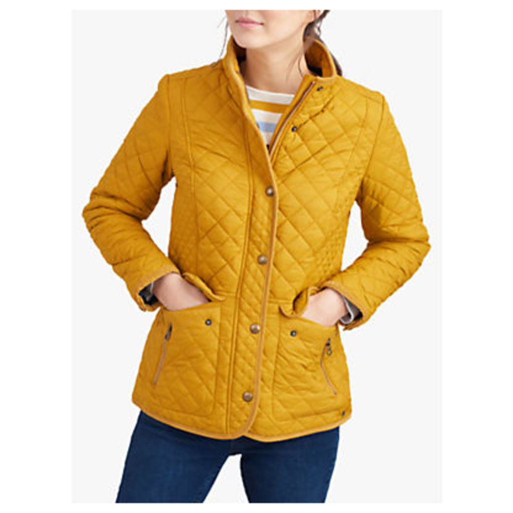 Joules Newdale Quilted Coat, Caramel