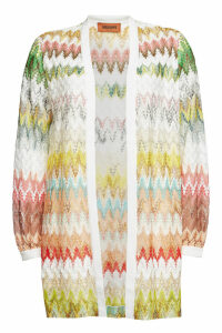 Missoni Knit Cardigan with Cotton