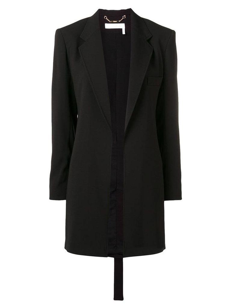 Chloé longline blazer - Black