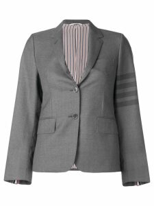 Thom Browne 4-Bar tailored blazer - Grey