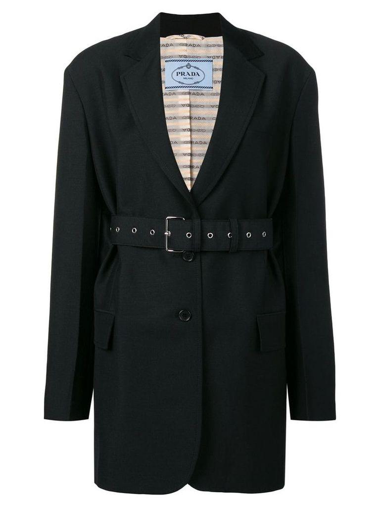 Prada oversized blazer - Black