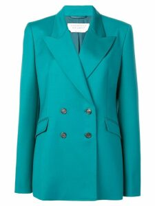 Gabriela Hearst classic double-breasted blazer - Blue