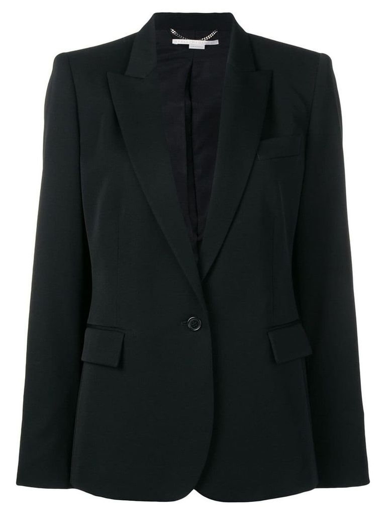 Stella McCartney single-breasted blazer - Black