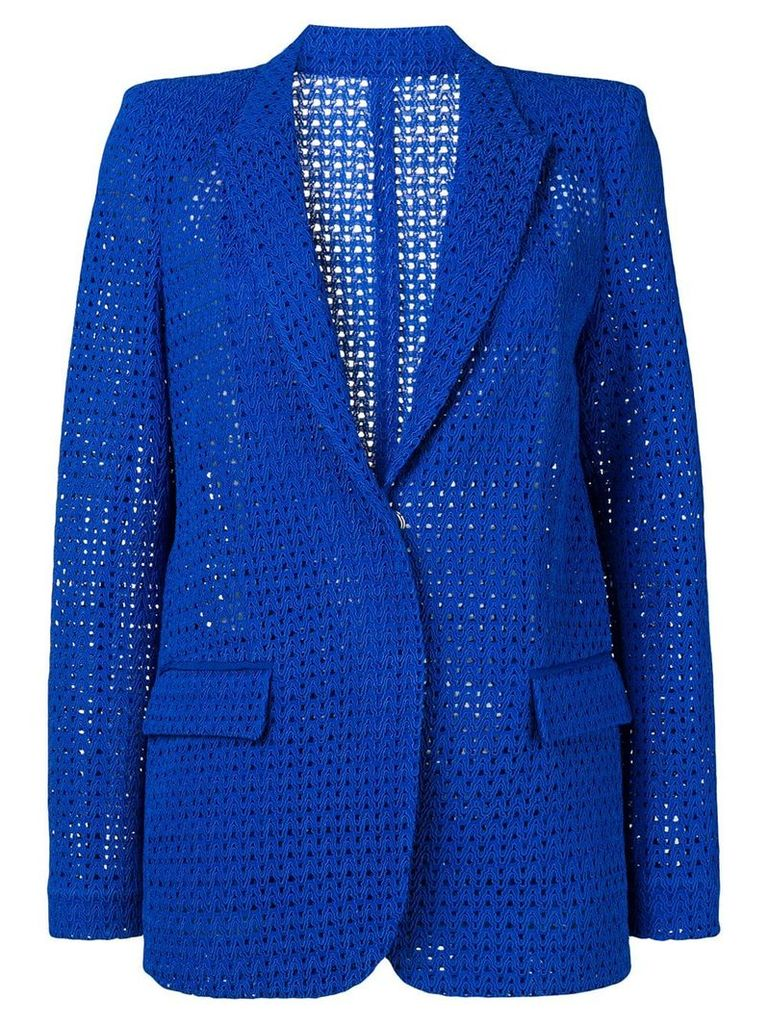 Pinko embroidered blazer - Blue