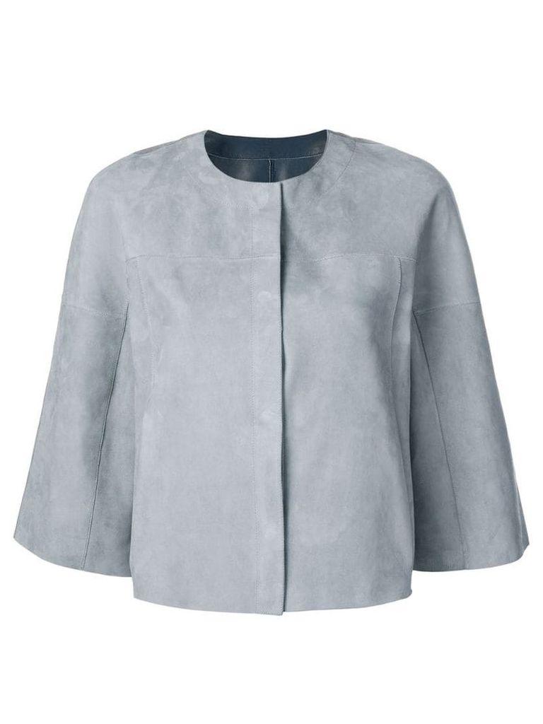 Drome cropped jacket - Grey