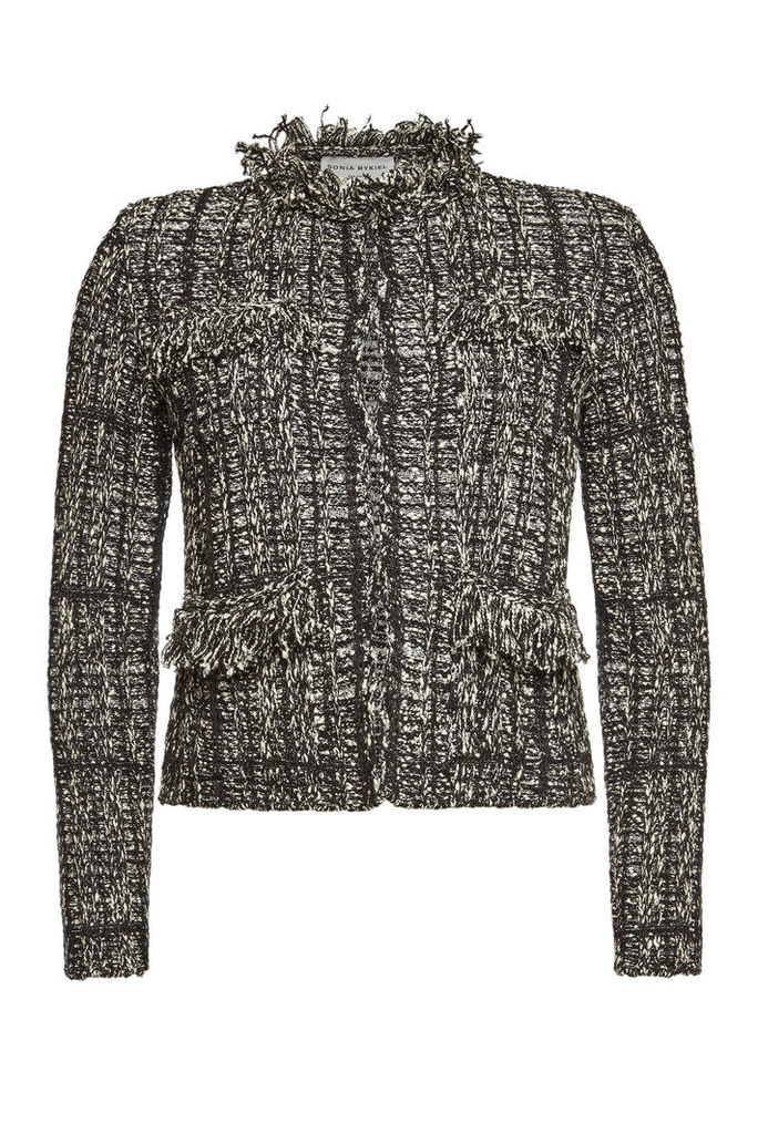Sonia Rykiel Tweet Blazer with Sequins