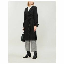 Gracieux crepe coat