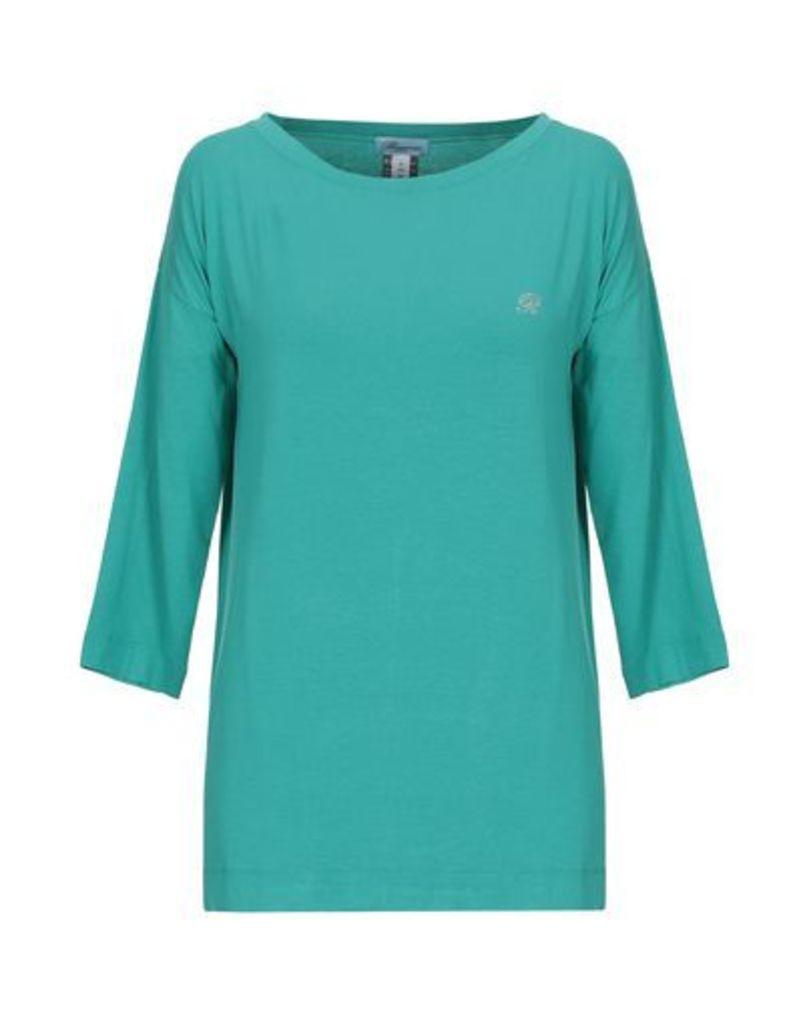 BLUMARINE BEACHWEAR TOPWEAR T-shirts Women on YOOX.COM