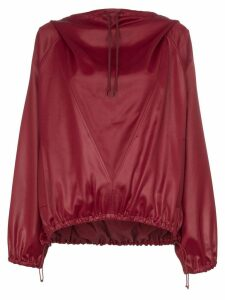 Givenchy Hi-sheen stretch hoodie - Red