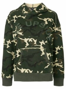The Upside camouflage hoodie - Green