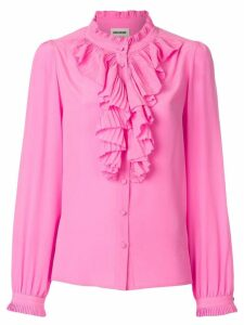 Zadig & Voltaire Tacco ruffle trim shirt - Pink