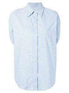 Mm6 Maison Margiela striped shirt - Blue