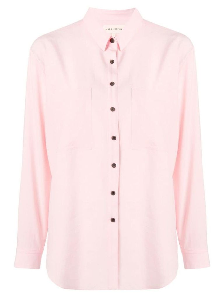 Mara Hoffman Margot shirt - Pink