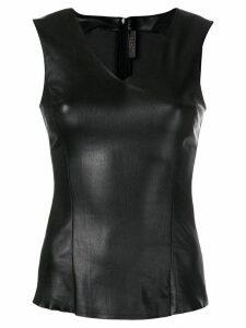 Drome wet look vest top - Black