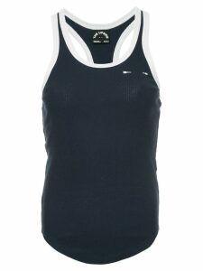 The Upside ribbed racer tank-top - Blue