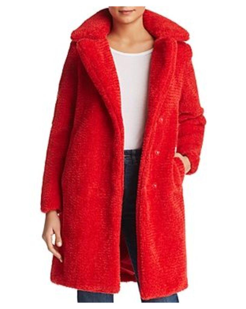 Vero Moda Lala Faux-Fur Teddy Coat