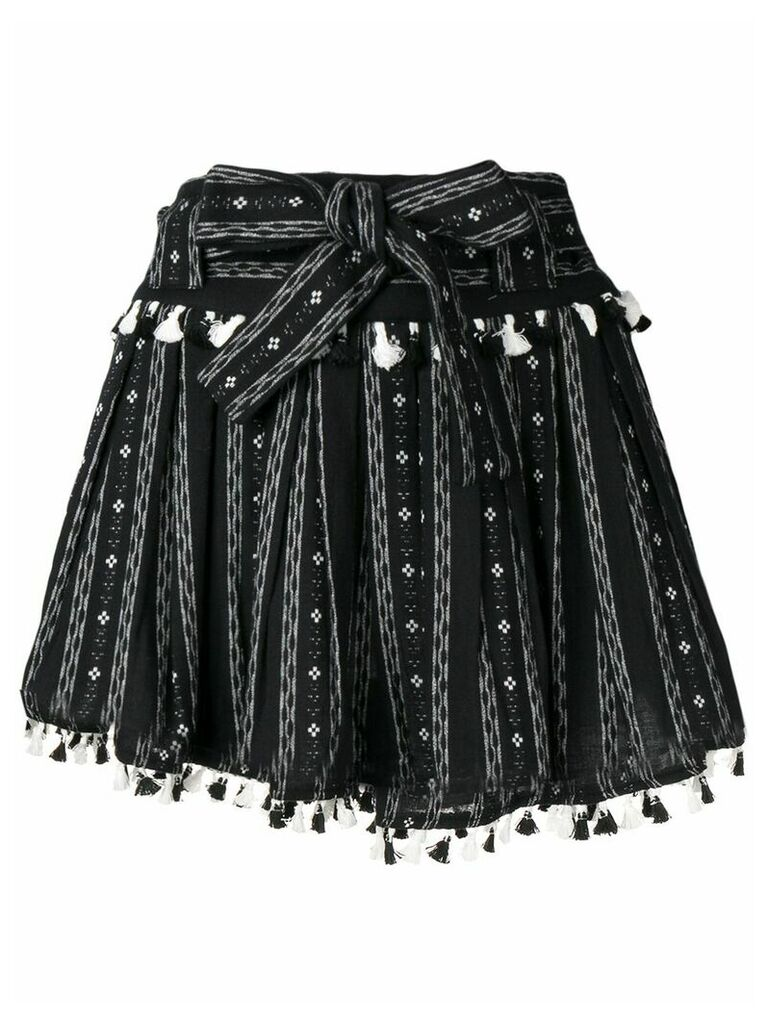 Dodo Bar Or Inga ethnic skirt - Black